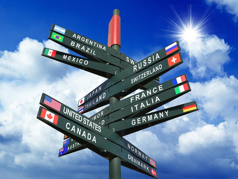 Choosing the Countries